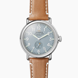 Shinola Runwell Slate Blue dial 41mm