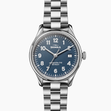 Shinola Vinton 3HD Midnight Blue dial 38mm Silver bracelet