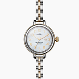 Shinola Birdie 3HD 34mm polished stainless steel