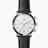 Shinola Canfield Sport 40mm white blackstrap