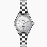 Shinola Vinton White MOP dial 3HD 32mm Silver Bracelet