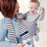 Mommy & Me Activity Scarf Blue