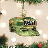 Army Cap ornament