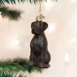 Black Labrador Retriever ornament