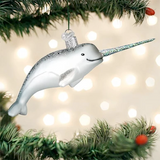 Narwhal Whale ornament