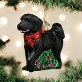Black Doodle Dog ornament