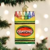 Box of Crayons ornament