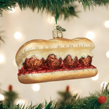 Meatball Sandwich ornament