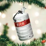 Aluminum Beer Keg ornament