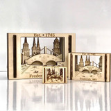 Miniature Frederick Scene matchbox