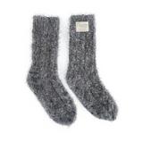 Giving Socks - charcoal