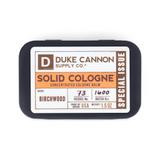 Duke Cannon Solid Cologne - Birchwood