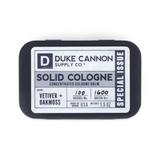 Duke Cannon Solid Cologne - VETIVER+OAKMOSS