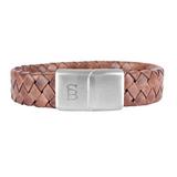 Preston Leather Bracelet - caramel