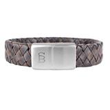 Preston Leather Bracelet- vintage brown