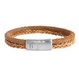 Denby Leather Bracelet  - camel