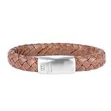 Cornall Leather Bracelet - caramel