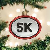 5K Run Medal ornament