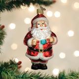 Santa Revealed ornament
