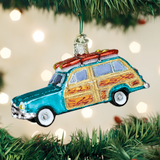 Surf's Up Wagon ornament