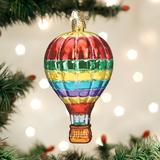 Vibrant Hot Air Balloon orament