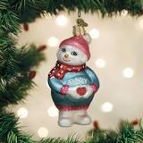 Expectant Snowlady ornament
