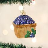 Basket of Blueberries Ornament