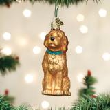 Irish Doodle Dog ornament