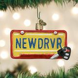 New Driver Tag ornament