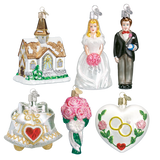 Wedding Collection ornaments