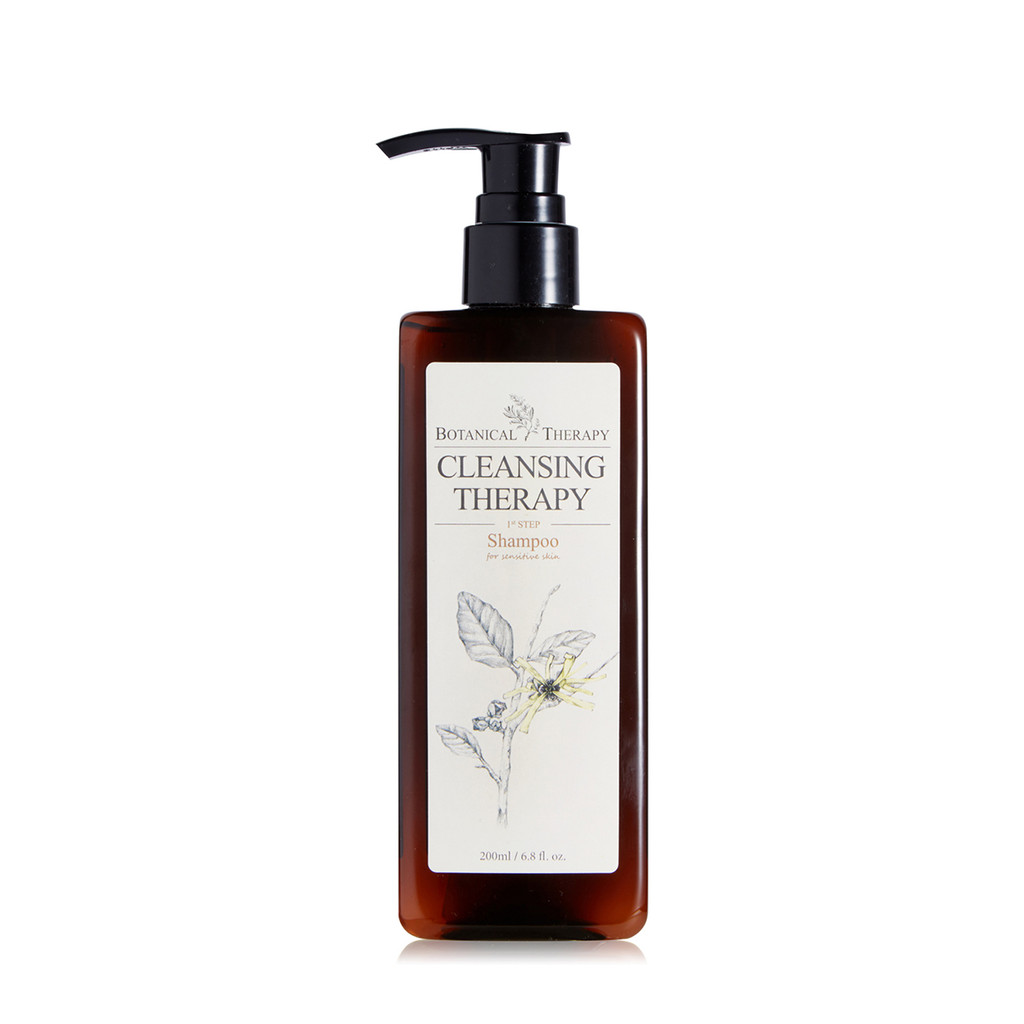 Botanical Therapy Pure Baby Shampoo with Calendula and Witch Hazel - Fragrance Free, 6.8 fl oz.