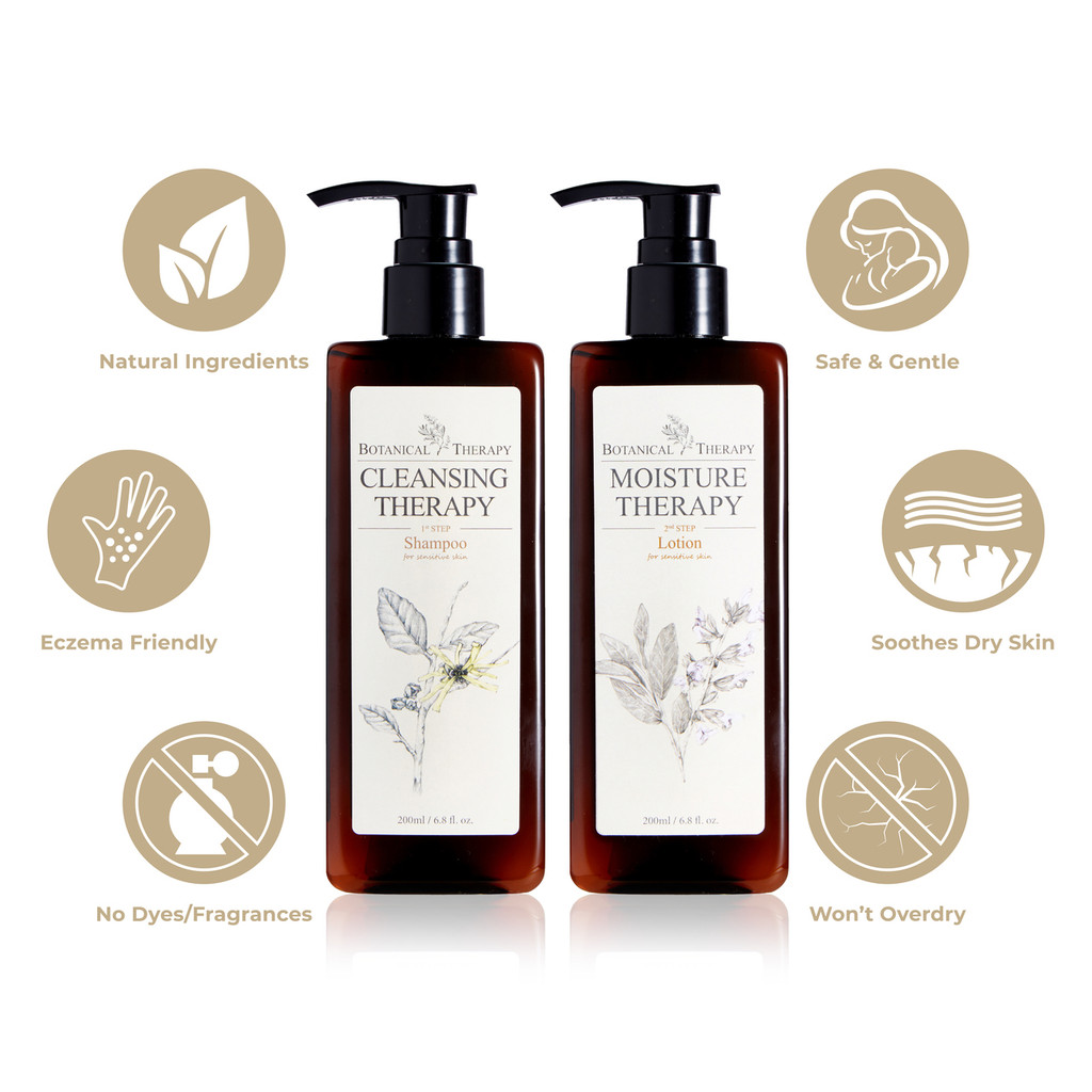 BOTANICAL THERAPY BABY SHAMPOO & BABY LOTION VALUE PACK!