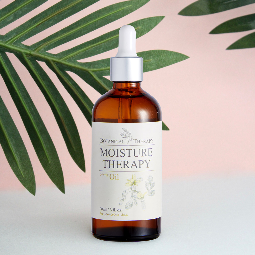 Botanical Therapy Moisturizing Baby Oil for Baby Massage with All-Natural Ingredients, 3 oz.