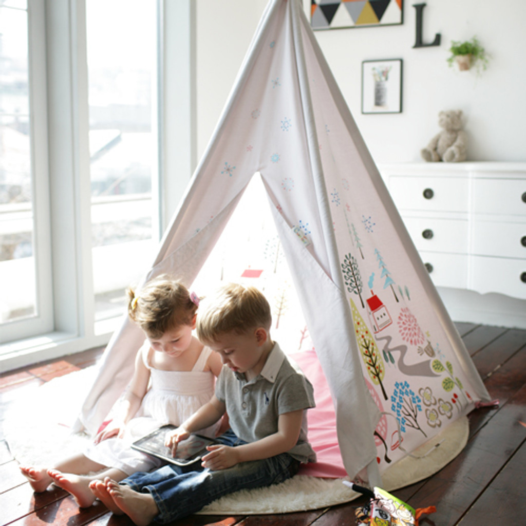 Play Tent / NORWEGIAN WOOD (BLUE)