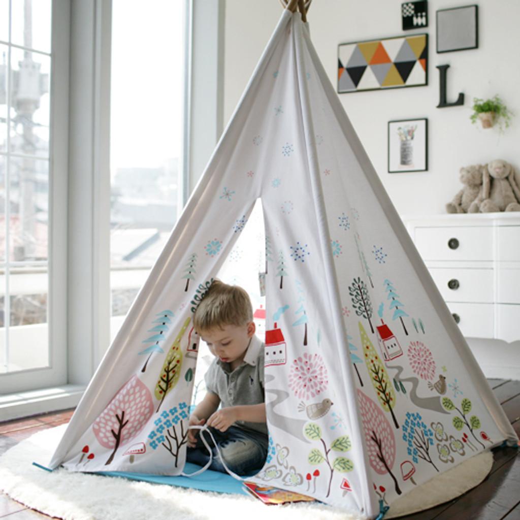Play Tent / NORWEGIAN WOOD (BLUE)