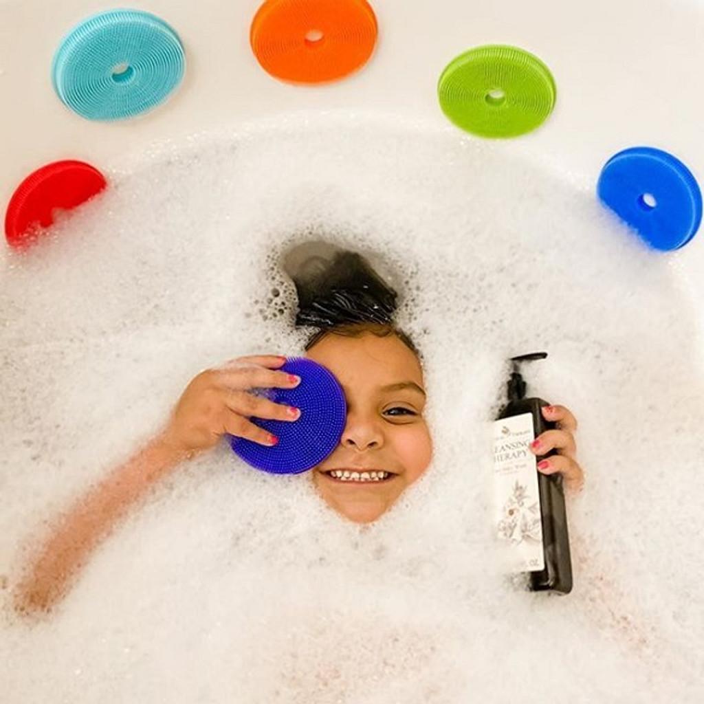 innobaby, #makebathtimefun, #ilovejolimoli, #campaign, Rainbow Bath Scrub, SILICONE DUCK BATH SCRUB, SILICONE MINI FISH SCRUB WITH SUCTION CUP FOR CRADLE CAP, Botanical Therapy Cream, Silicone fish scrub