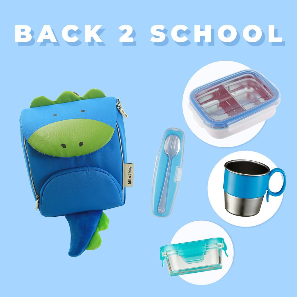 Back 2 School Set/ Dylan Dino