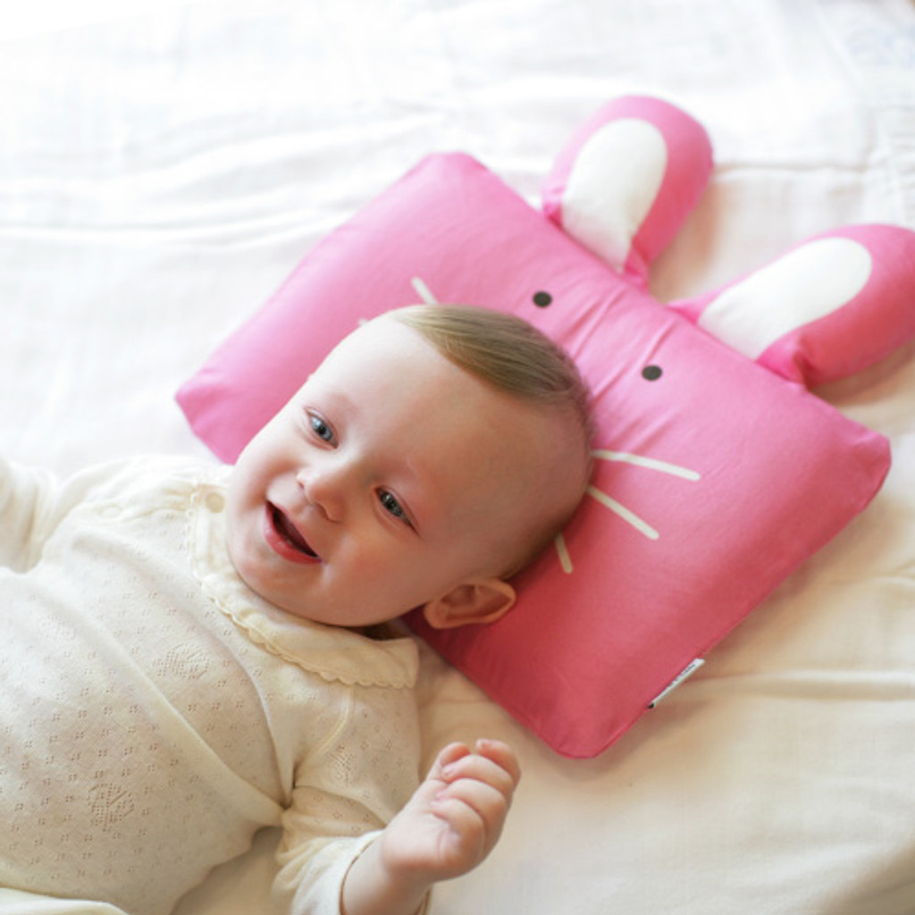 Milo & Gabby Baby Pillowcase for Playtime & Travel