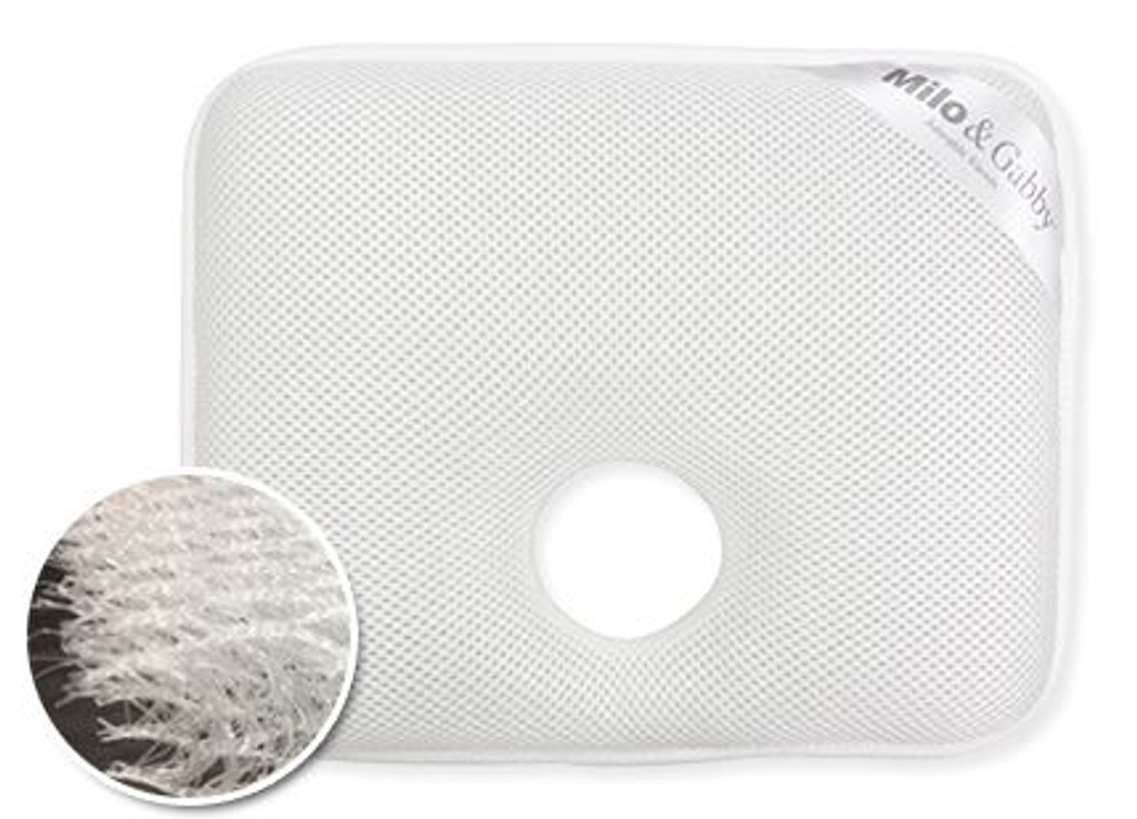3D Air Mesh Baby Pillow insert for Flat Head Syndrome