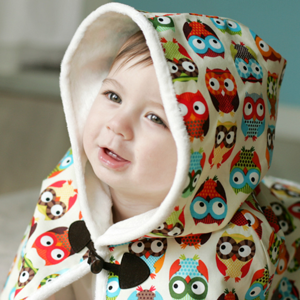 HOODED CAPE (Various Patterns)