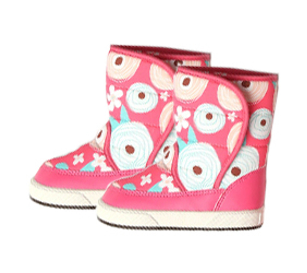 CONFETTI FLOWER - PADDED BOOTS