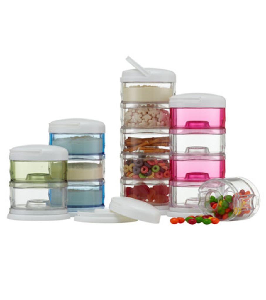 Packin' SMART Stackables 4 Tier Essentials - White