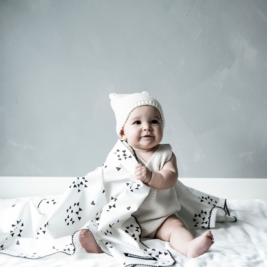 Multi-Purpose Cotton Cuddle Flannel Baby Blanket 41 x 41 inches - (Various Patterns)