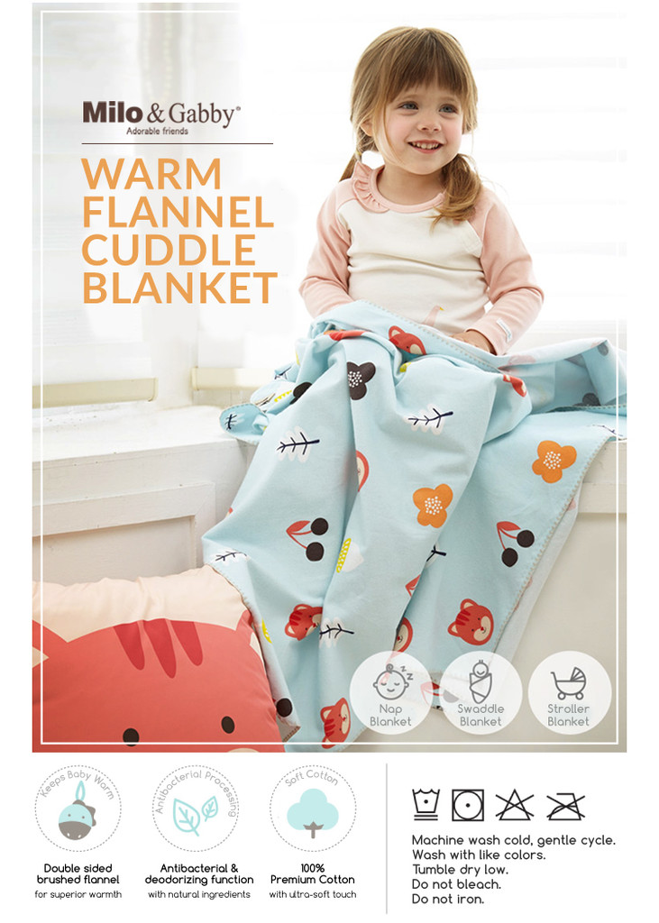 Flannel Cuddle Warm Blanket (Various Patterns)