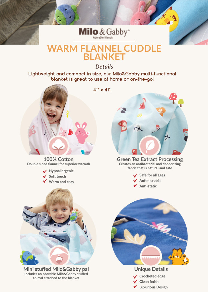 Flannel Cuddle Warm Blanket (Various Patterns)