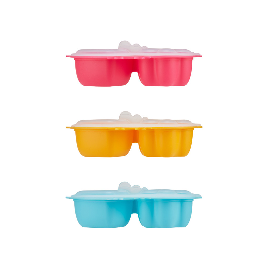 Din Din SMART SILICONE CHICKEN STEAMER WITH LID (Multiple Colors)