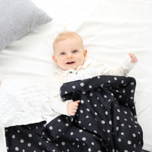 COTTON EMBOSSED MINKY BLANKET (Various Patterns)