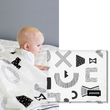 All Seasons Cotton Cuddle Blanket for Babies and Kids (Various Patterns)