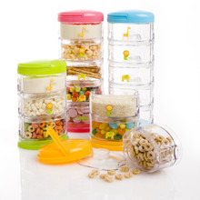 Innobaby Packin' SMART Stackables 2 Tier / Zoo Animal - LIMITED EDITION