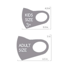 KIDS / Silver Fabric Mask